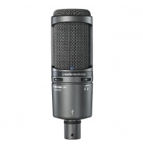 Audio Technica AT 2020 USB+ Studijinis Kondensatorinis Mikrofonas