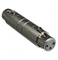 Hosa GXX-145 3-Pin XLR-Female - 3-Pin XLR-Female Adapteris