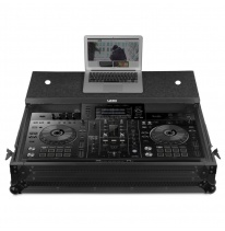 UDG Ultimate Flight Case Pioneer XDJ-RX2 Black MK3 Plus (Laptop Shelf + Wheels) (U91015BL2)