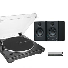 Audio Technica LP60XUSB + Presonus Eris E3.5 Bundle