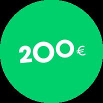 Dovanų kuponas 200€