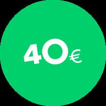 Dovanų kuponas 40€