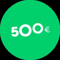 Dovanų kuponas 500€