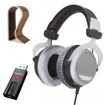 Beyerdynamic DT 880 Edition (250 Ω) + Audioquest Dragonfly (Black) + Glorious Stand Bundle