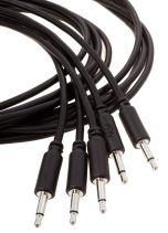 Erica Synths Eurorack Patch Cables 0.1m (5 pcs, Black)