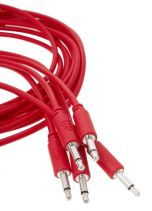 Erica Synths Eurorack Patch Cables 0.6m (5 pcs, Red)