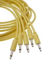 Erica Synths Eurorack Patch Cables 0.2m (5 pcs, Yellow)