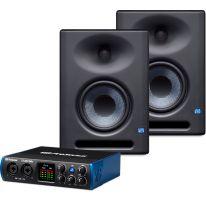 Presonus Eris E5 XT + Studio 24c Bundle