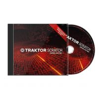 Native Instruments Traktor Scratch Control CD MK2 Timecode CD Diskas (2 vnt.)