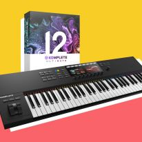 Native Instruments Komplete Kontrol S61 MK2 + Komplete 12 Ultimate Bundle
