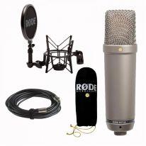 Rode NT1-A Studijinis Kondensatorinis Mikrofonas