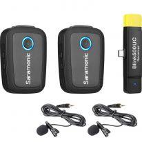 Saramonic Blink 500 B6 (2 to 1) 2,4 GHz wireless system w/USB-C