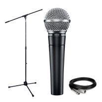 Shure SM58 + Stand + Cable Bundle
