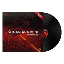 Native Instruments Traktor Scratch Control Vinyl MK2 Timecode Plokštelė (Juoda)