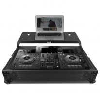 UDG Ultimate Flight Case Pioneer XDJ-RR Black Plus (Laptop Shelf) (U91065BL)
