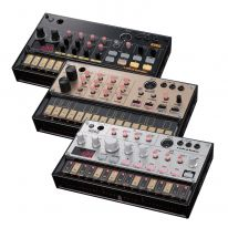 Korg Volca Beats + Bass + Keys + Cables Bundle