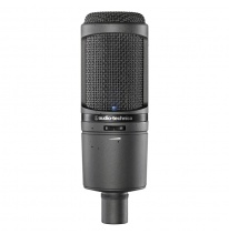 Audio Technica AT 2020 USBi Studijinis Kondensatorinis Mikrofonas (USB / iOS)