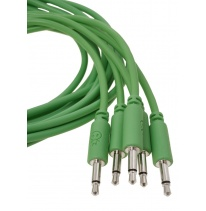 Erica Synths Eurorack Patch Cables 0.6m (5 pcs, Green)