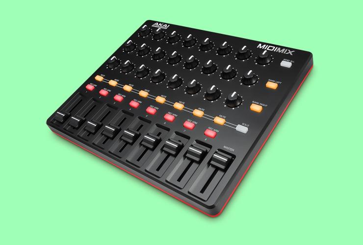 Naujiena: Akai MIDImix MIDI kontroleris