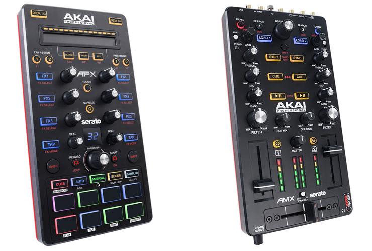 Akai naujienos: du DJ kontroleriai - Akai AFX ir Akai AMX