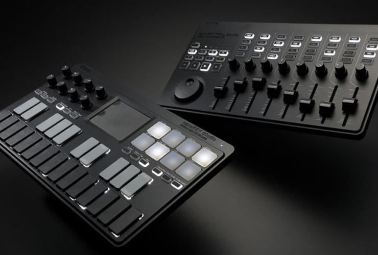 Naujiena: Korg nanoKONTROL Studio ir nanoKEY Studio MIDI kontroleriai
