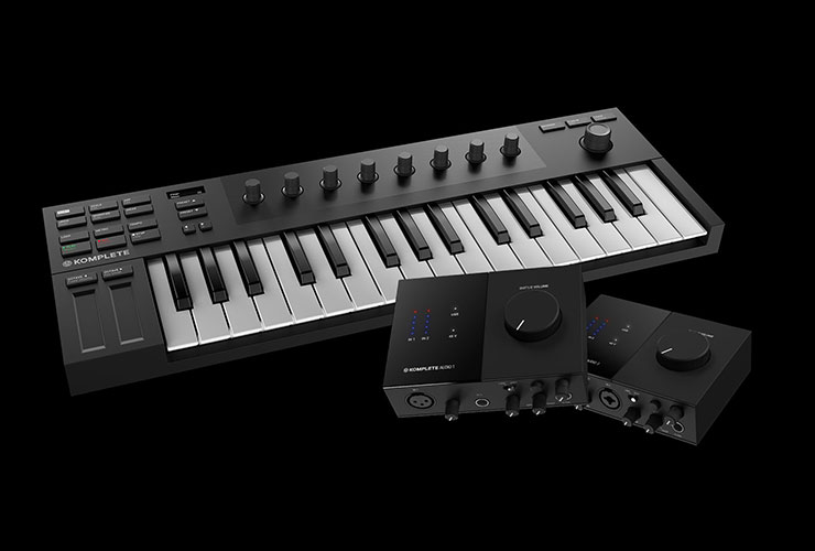 Naujienos: Native Instruments Kontrol M32, Komplete Audio 1/2, Traktor DJ 2 ir Komplete Start