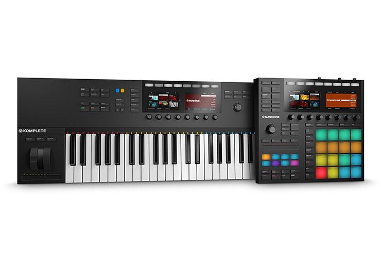 Naujiena: Native Instruments Maschine MK3 ir Komplete Kontrol MK2