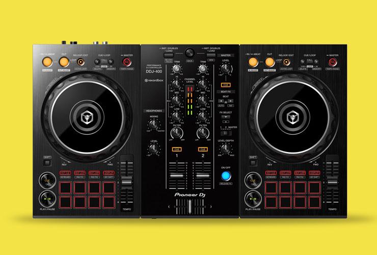 Naujiena: Pioneer DDJ-400 DJ kontroleris